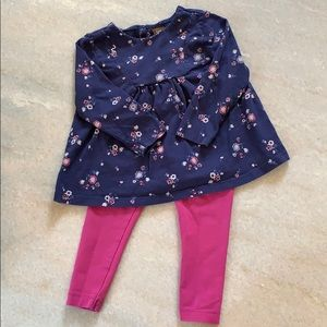 Tea Collection - Pant and Legging Set - size12-18m